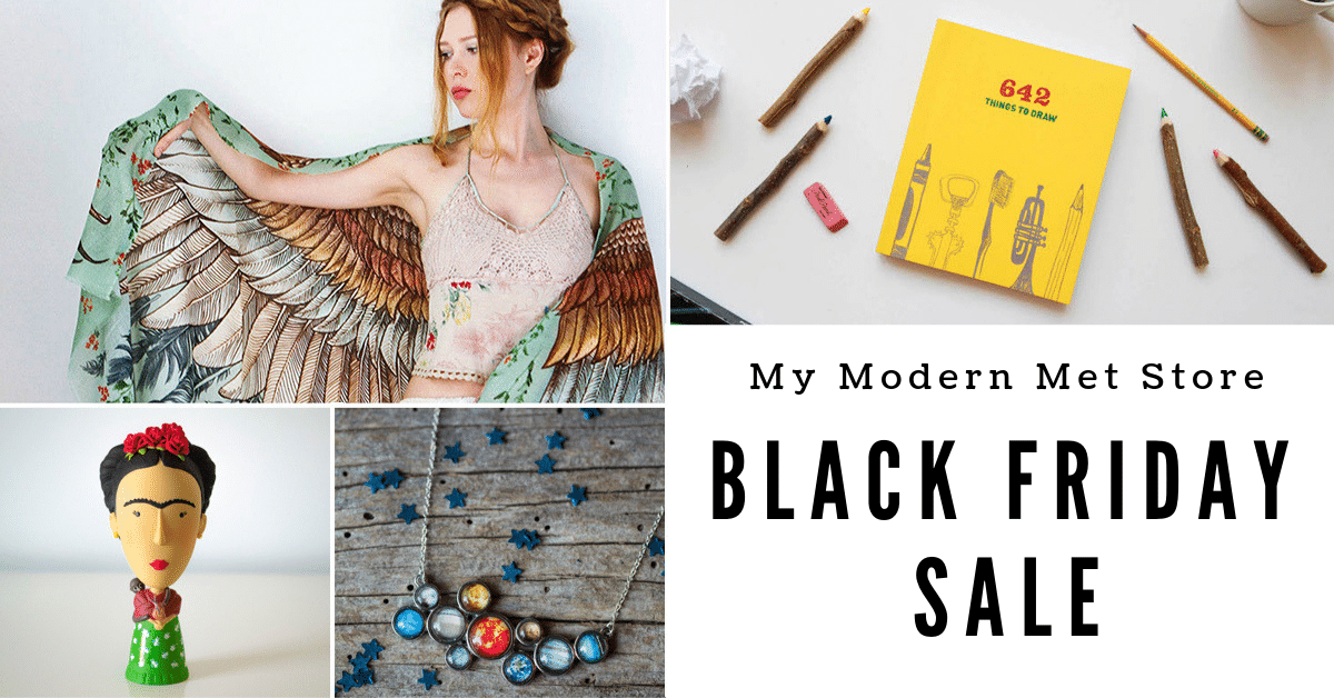 My Modern Met Store Black Friday Sale