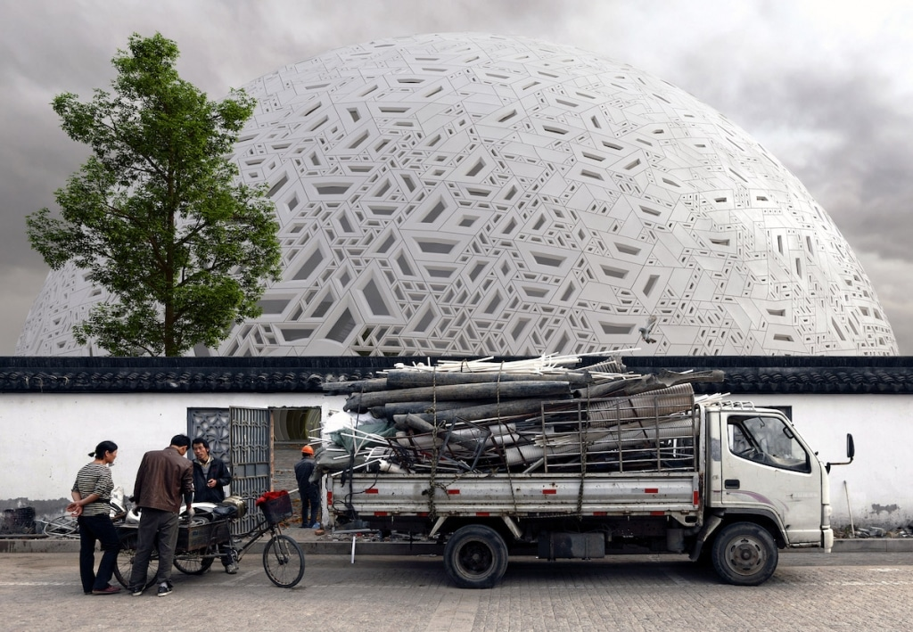 Puzzle Ball Theatre in Guangzhou by Steven Chilton Architects