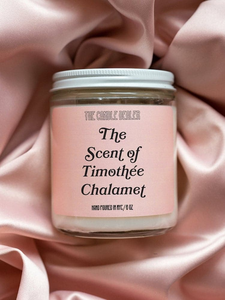 The Scent of Timothee Chalamet Candle