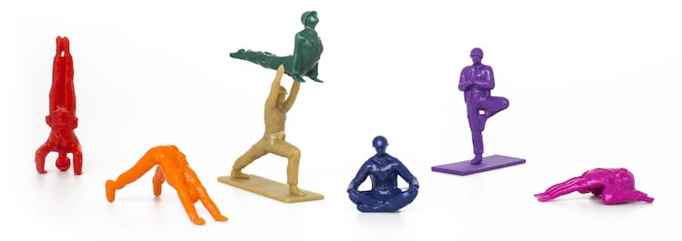 Rainbow Joes Yoga Joes Toys for Grown-Ups