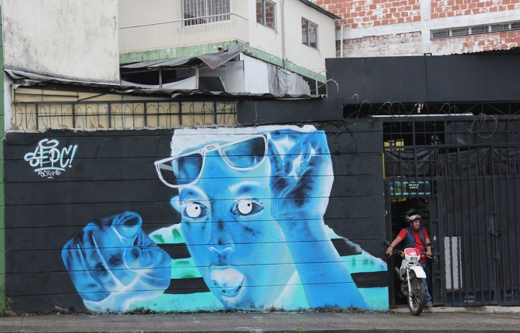 Negative Painted Mural by Sepc