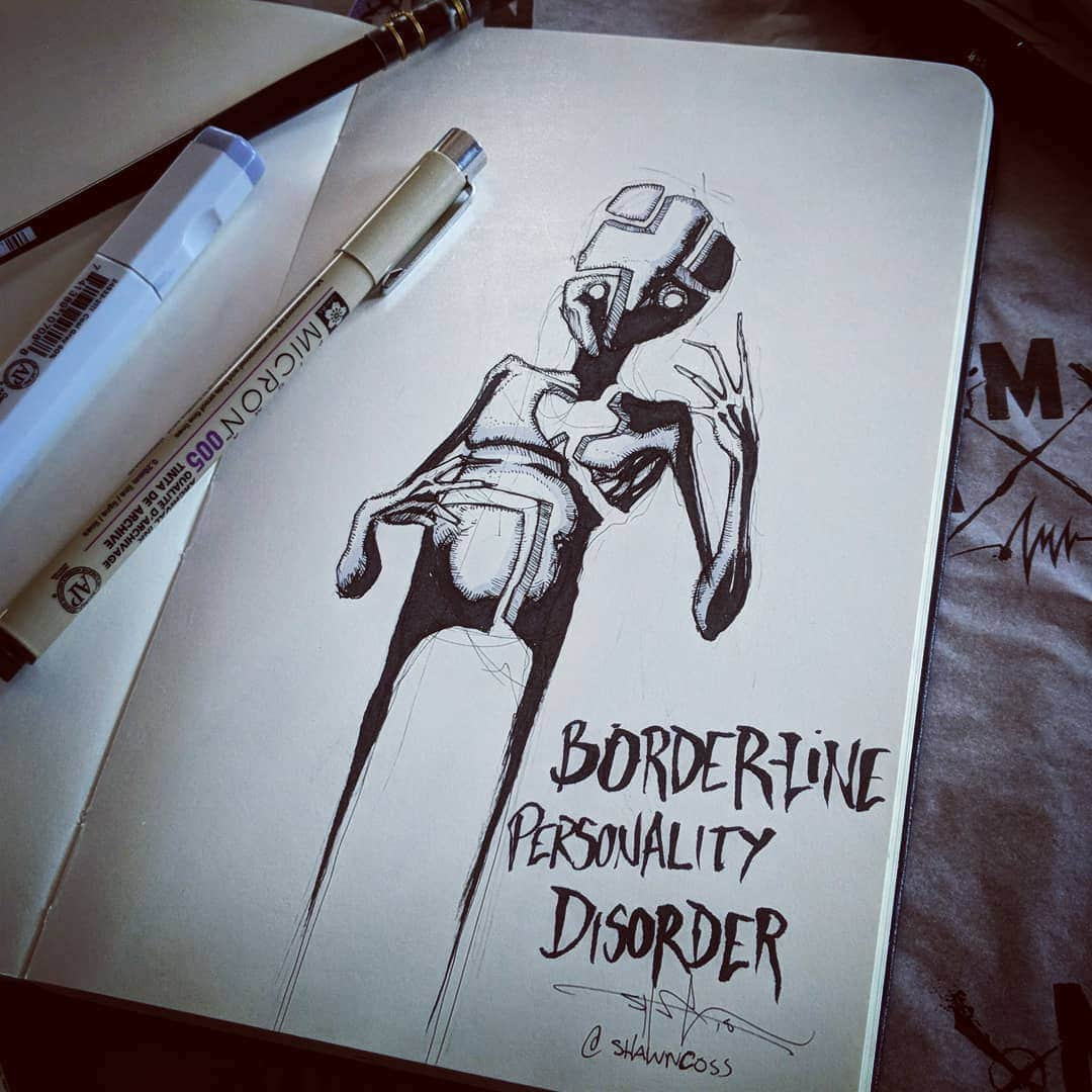 Interview Artist Creates Inktober Mental Illness To Erase Stigma