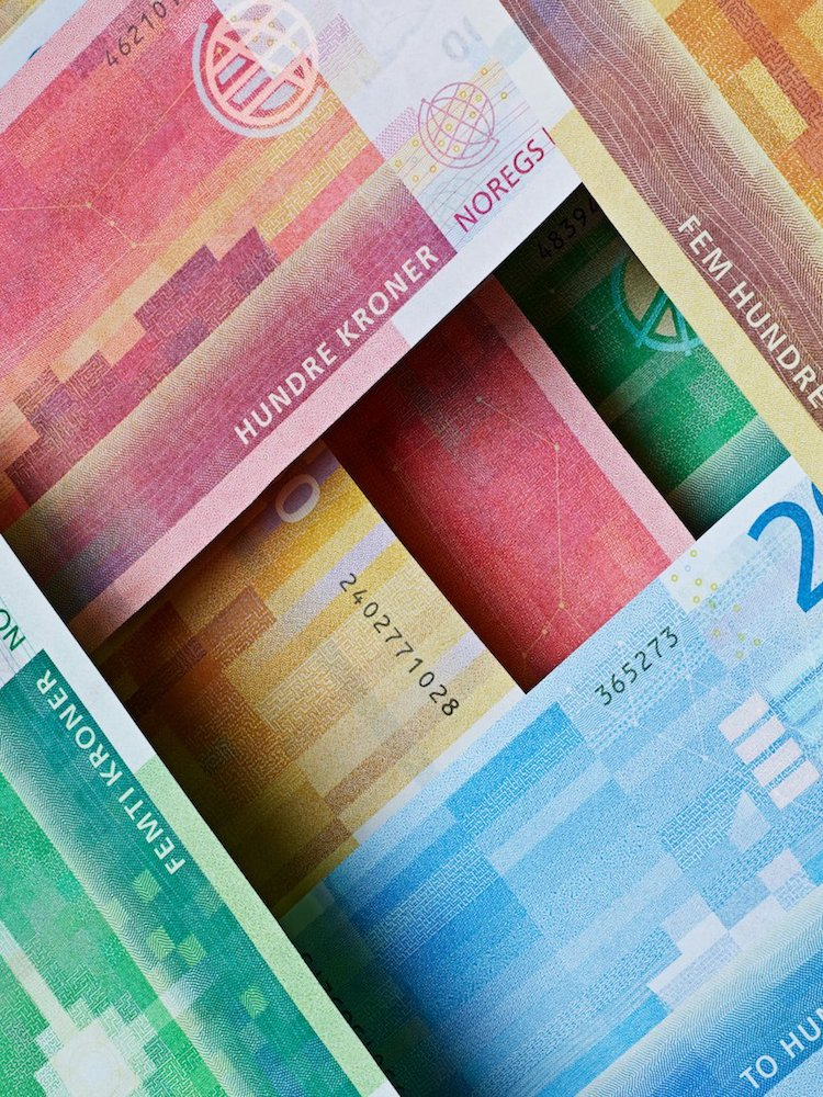 New Norwegian Banknotes by Snøhetta