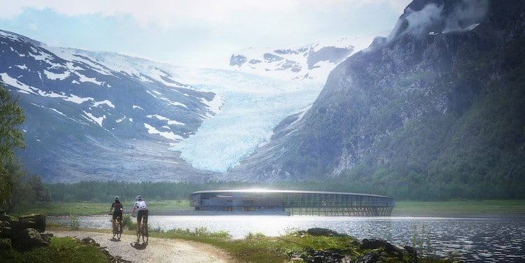 Sustainable Architecture in Norway by Snøhetta