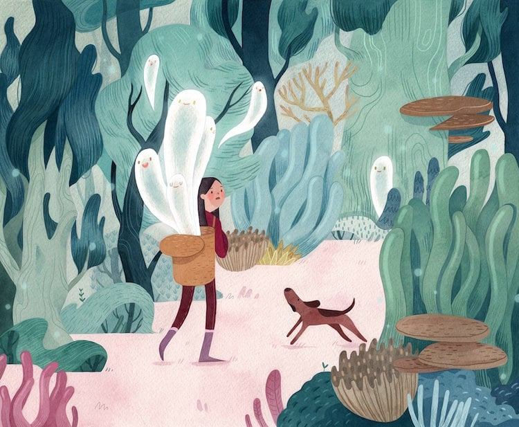 Storybook Illustrations by Vivian Mineker