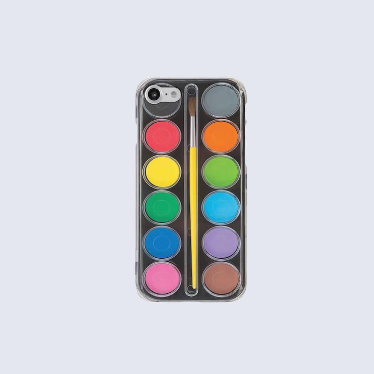 Watercolor Palette iPhone Case