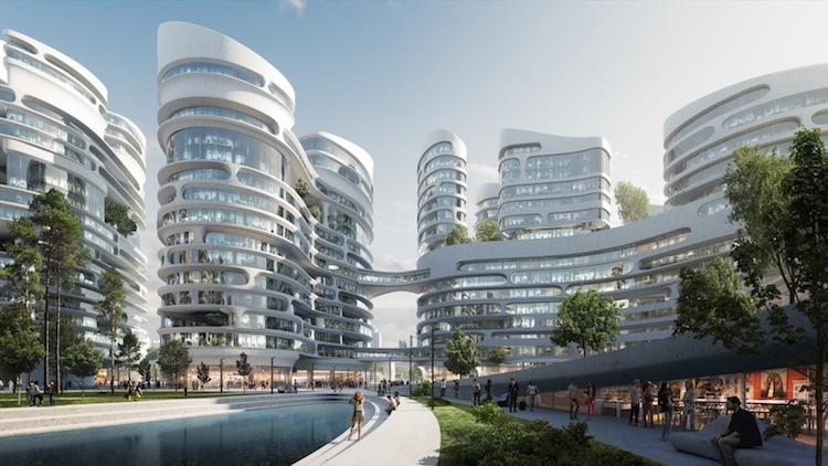 Rublyovo-Arkhangelskoye - Moscow- Zaha Hadid Architects