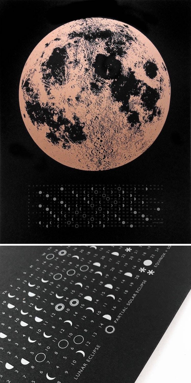 2019 Moon Phase Calendar