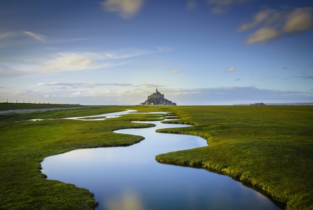 Mont Saint Michel by Daniel Burton