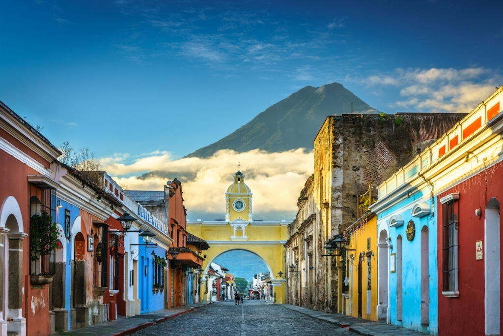 Santa Catalina Arch in Antigua