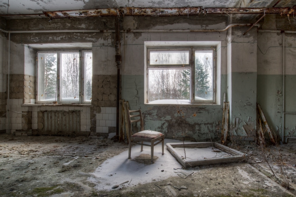 Photo of Chernobyl by Dave Searl