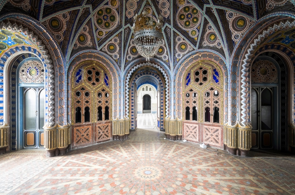 Castle of Sammezzano in Italy