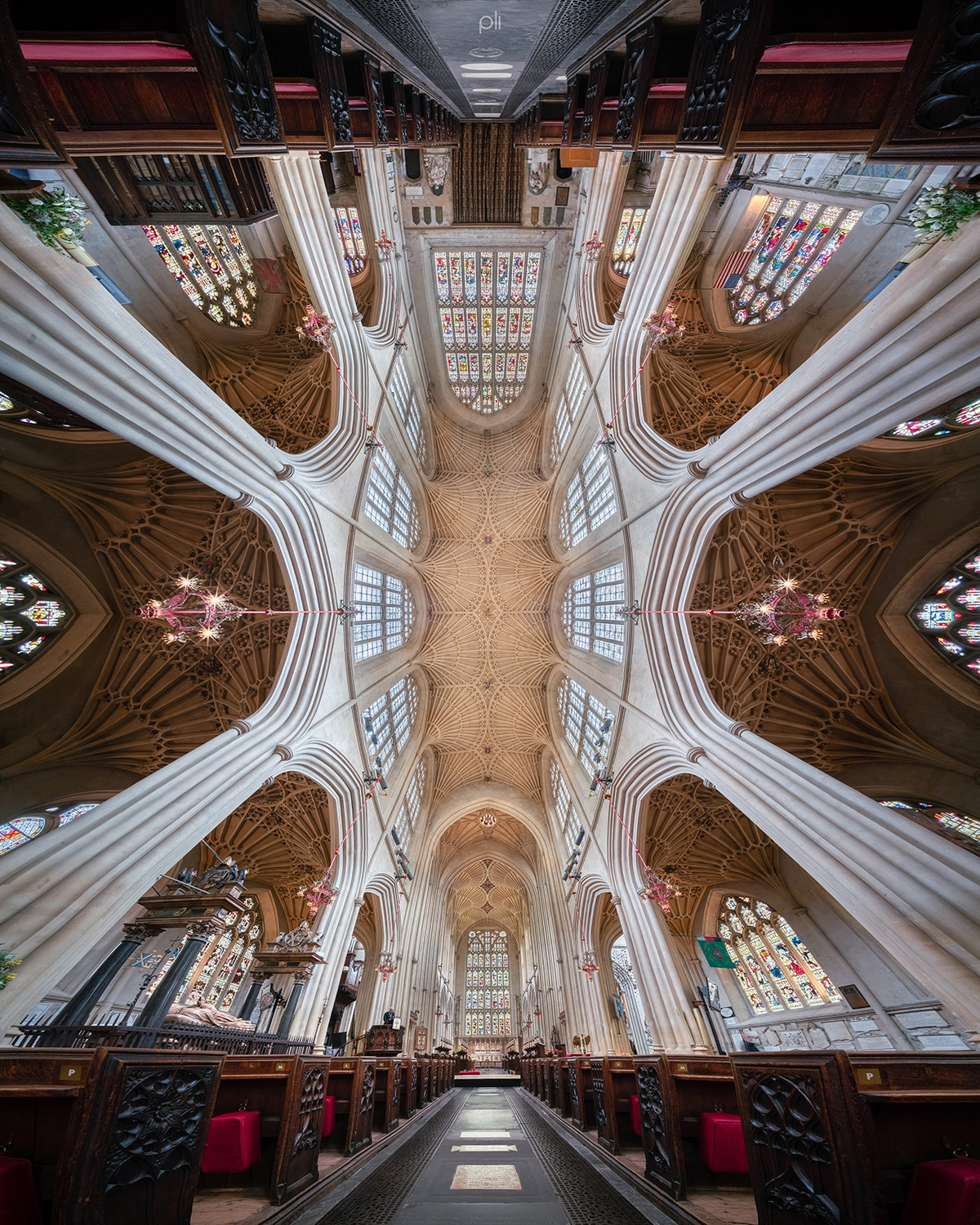Panos of Church Interiors by Peter Li