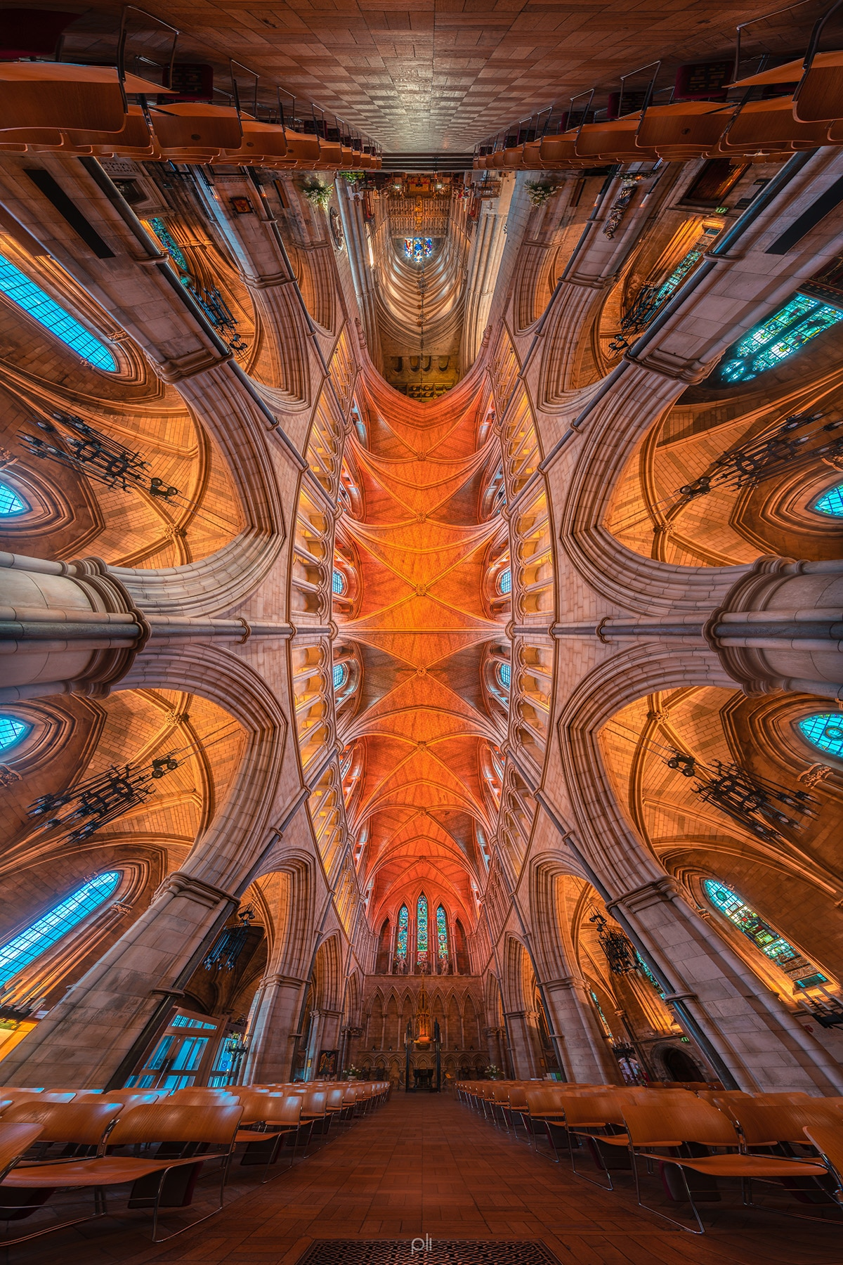 Panoramic Architecture Photography by Peter Li