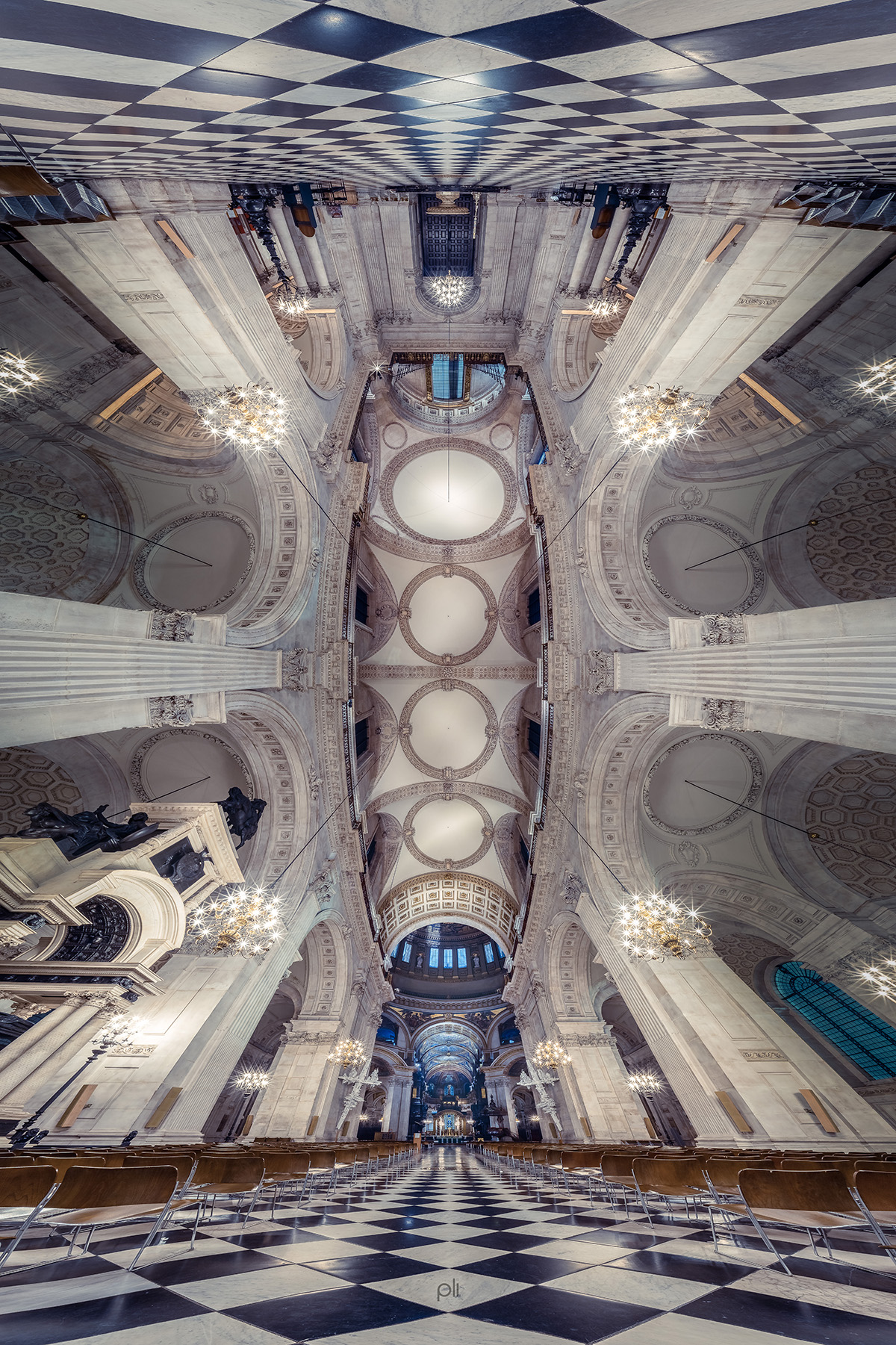Atrium of St Paul's Cathedral by Peter Li