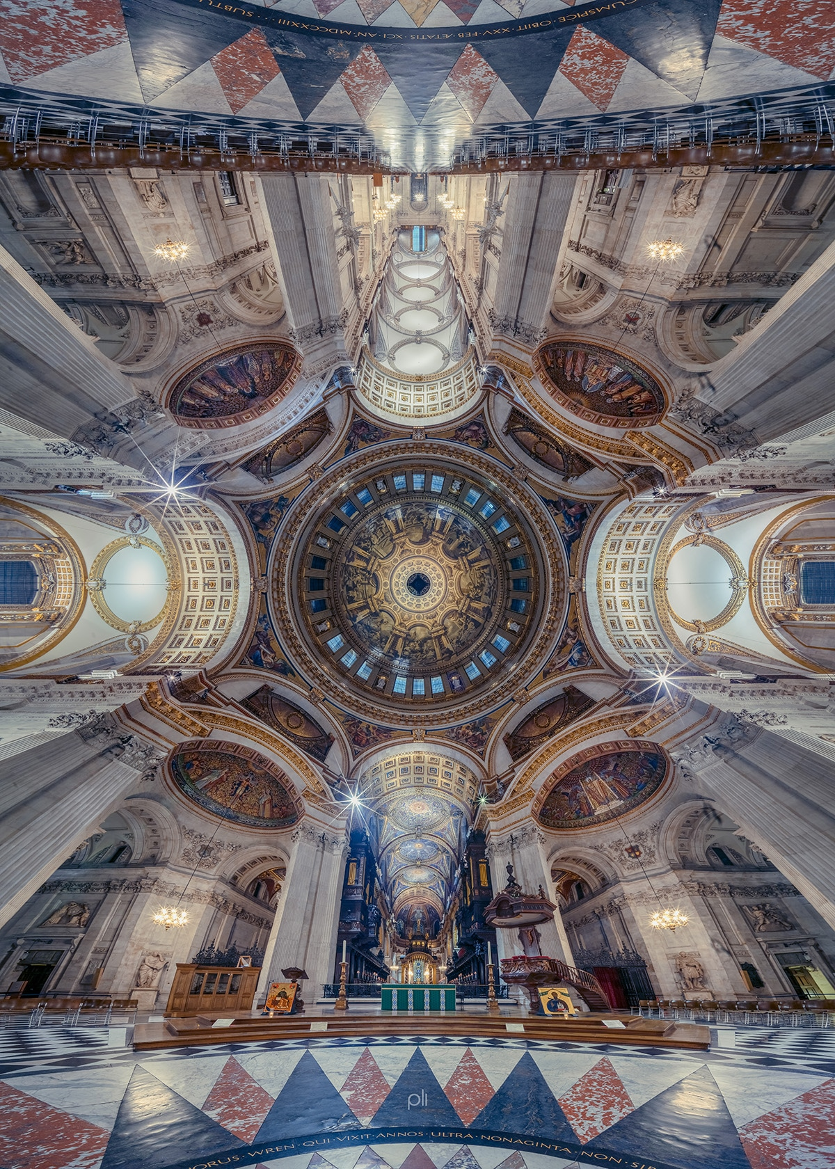 Photo of St. Paul's Dome by Peter Li