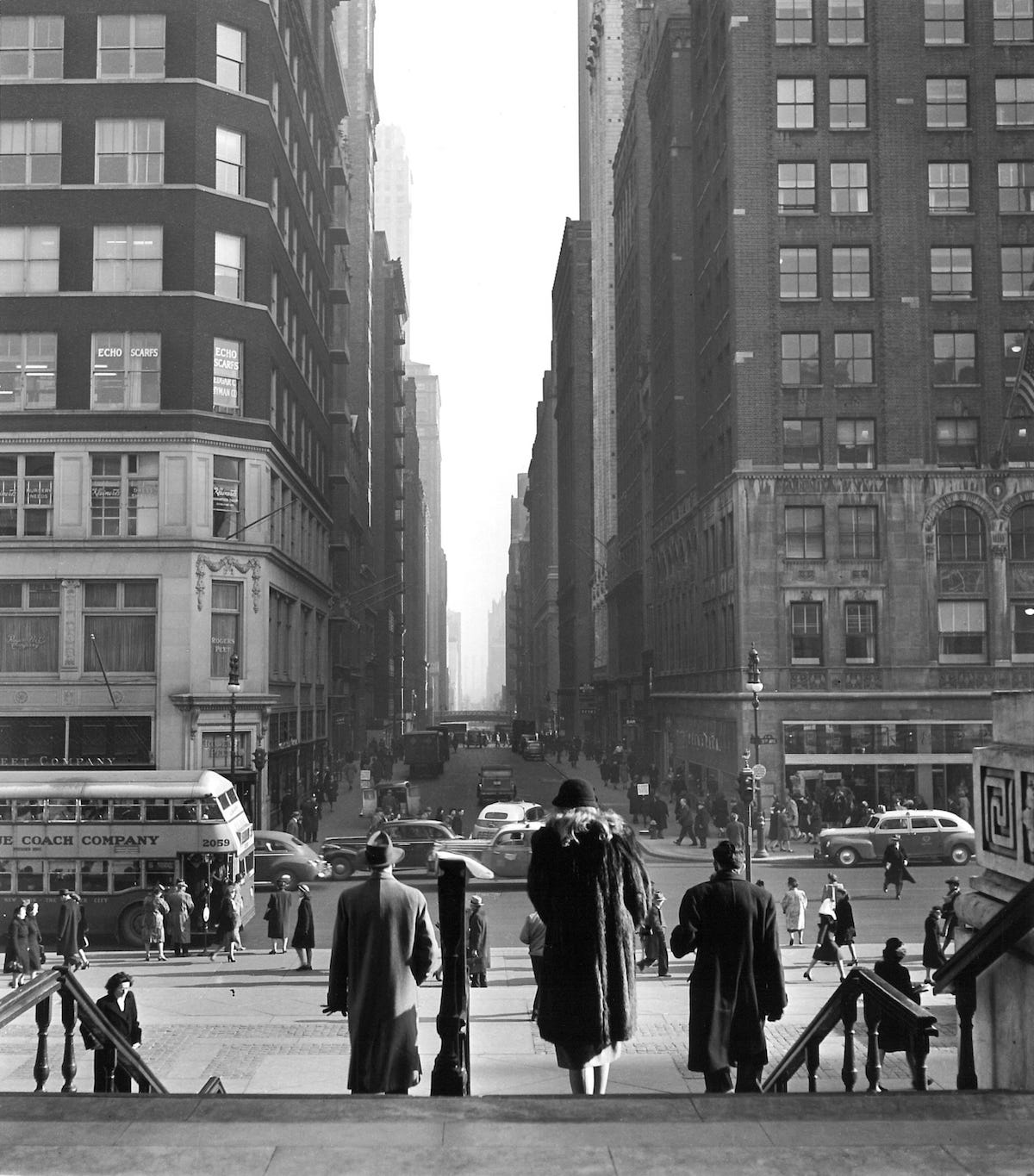 New York in the 1940s by Ida Wyman