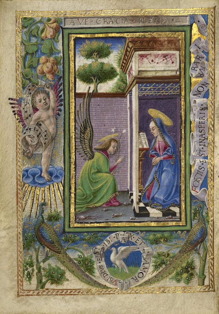 Angel Art Angles Paintings of Angels Medieval Illuminated Manuscript