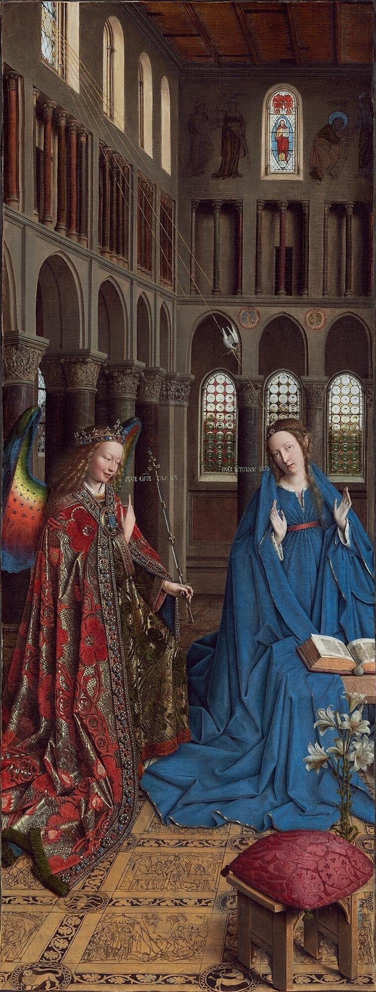 Angel Art Angel Paintings of Angels Medieval Illuminated Manuscript