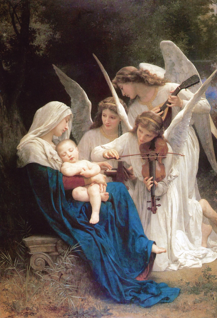 Angel Art Angel Paintings of Angels Neoclassical Painting