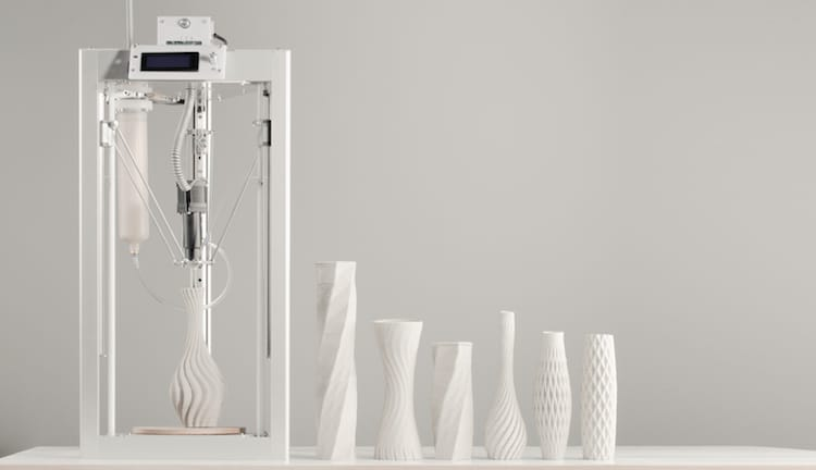 CERAMBOT Ceramic 3D Printer 3D Printed Ceramics