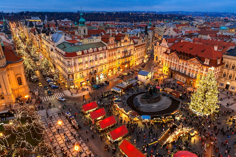 Best Christmas Markets in Europe Prague Christmas Fair