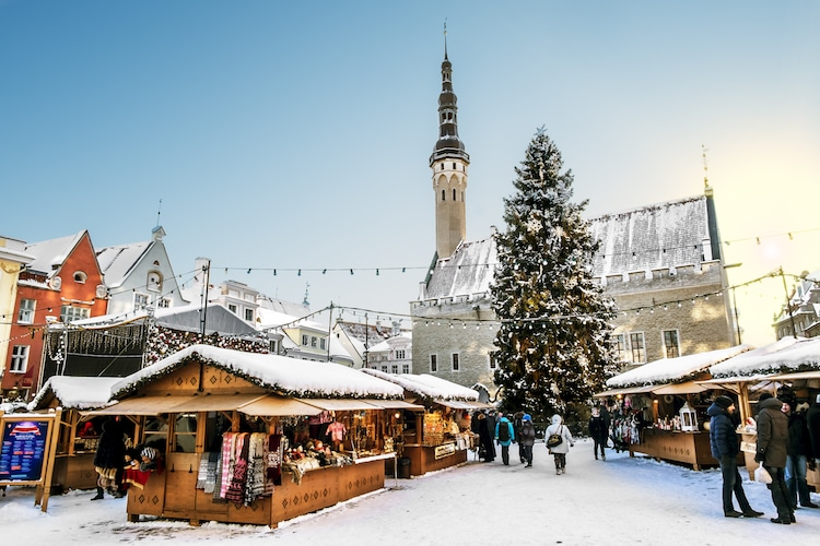 Best Christmas Markets in Europe Christmas 2018 Tallinn Christmas Fair