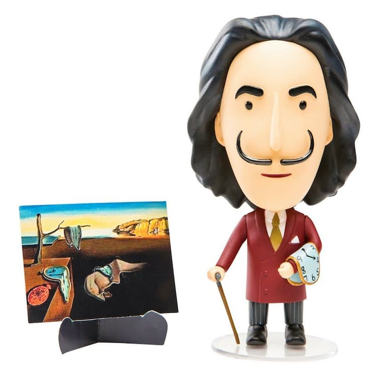 muñeco salvador dali regalos surrealistas