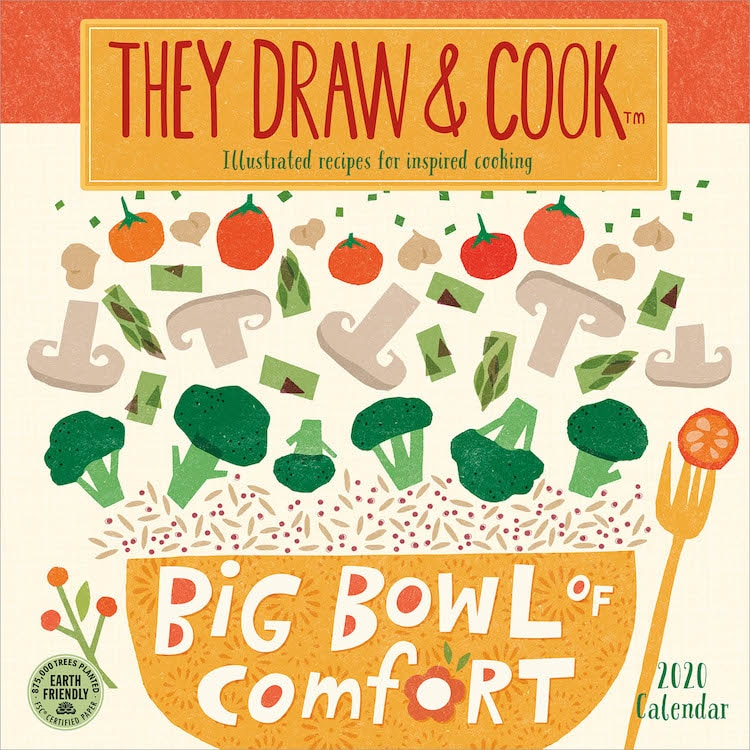 They Draw & Cook Recipe Calendar