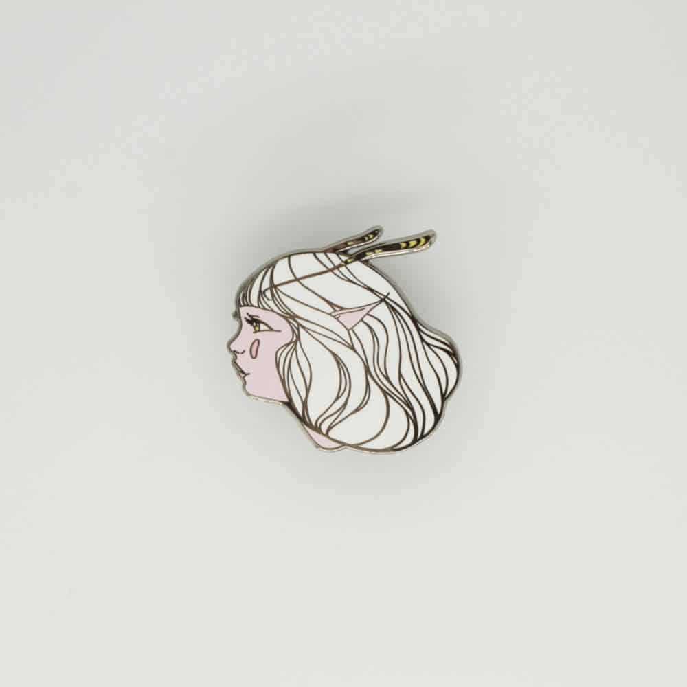 Cool Enamel Pins by Hannah Kienzle