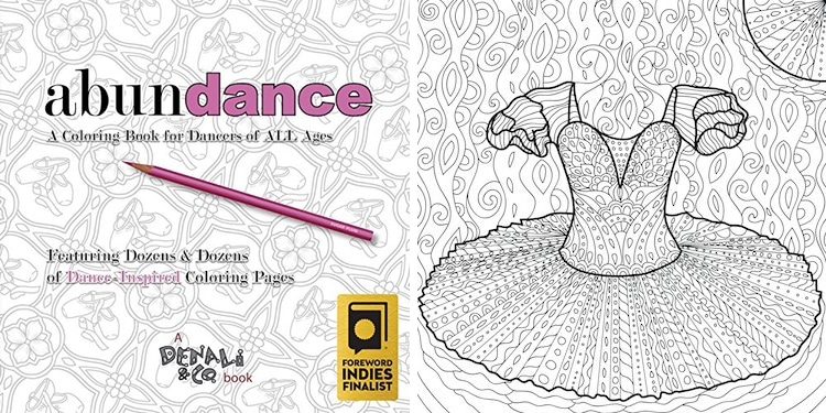 Dance Coloring Book