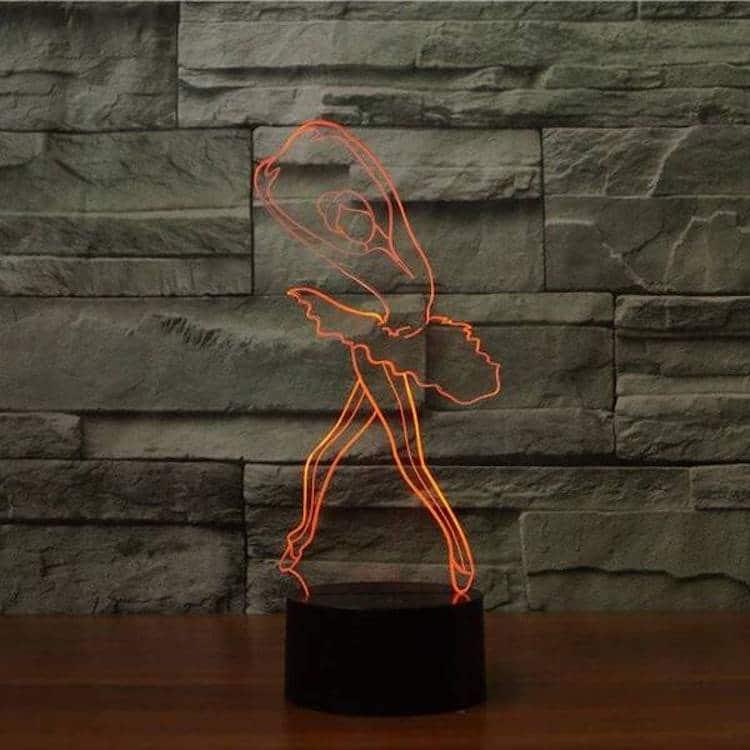 3D Dance Lamp