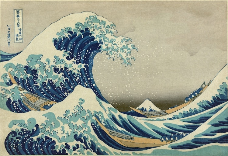 The Great Wave Evolution The Great Wave Original