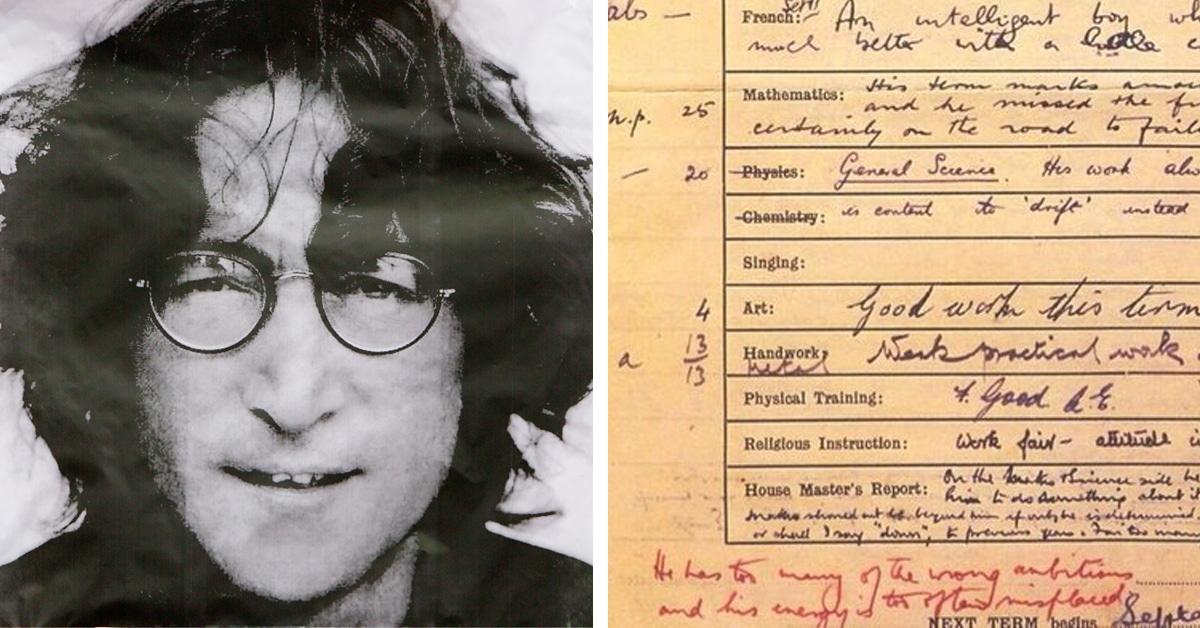 John Lennon 1956