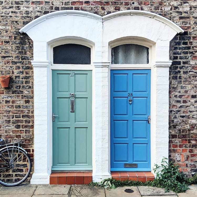 Fotos de puertas de Londres por Bella Foxwell
