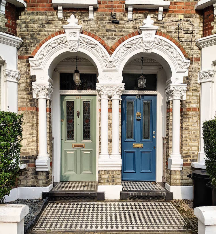 Photographer Captures The Many Front Door Colors Of London