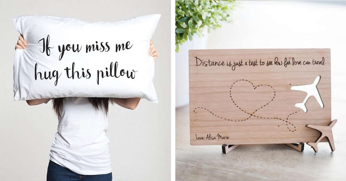 Long Distance Romance Gifts