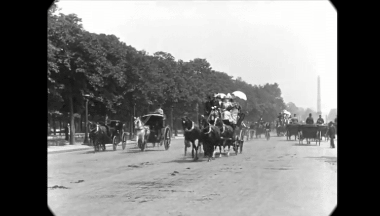 Lumiere Brothers 1890s Paris Footage 19th Century Paris