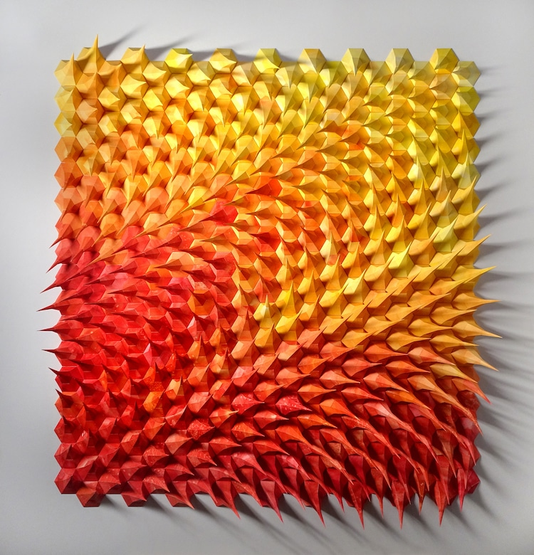 Paper Engineering by Matthew Shlian