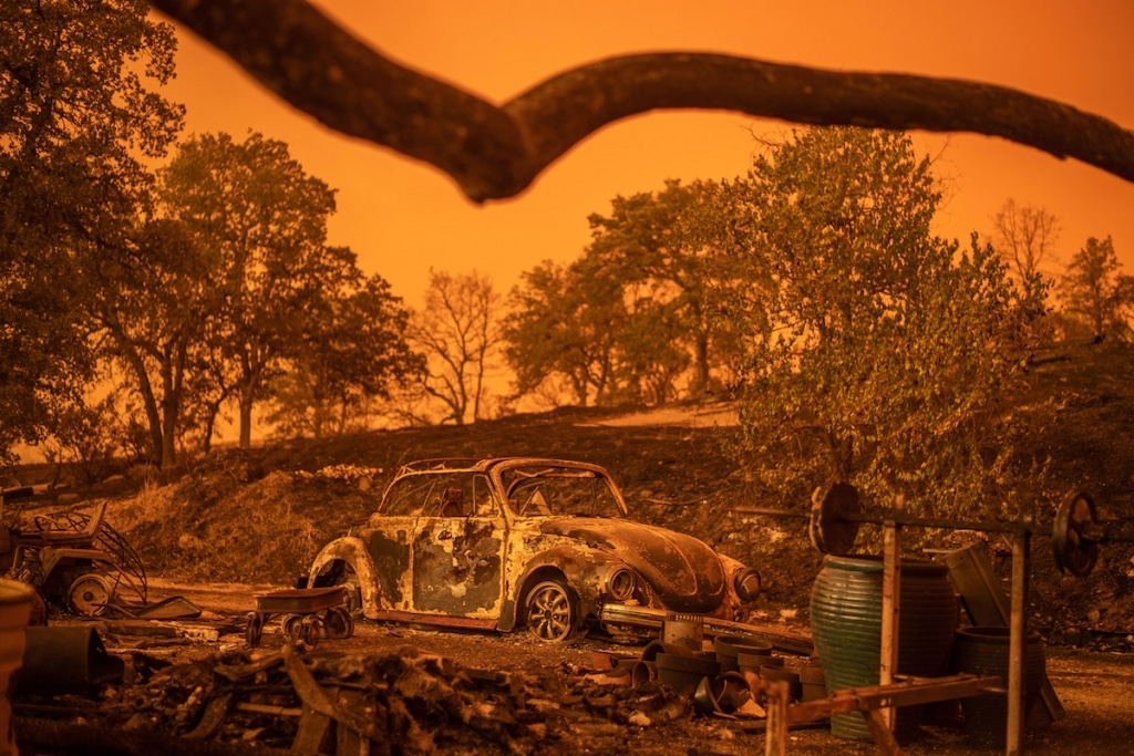 California Wildfires by Noah Berger Photojournalist