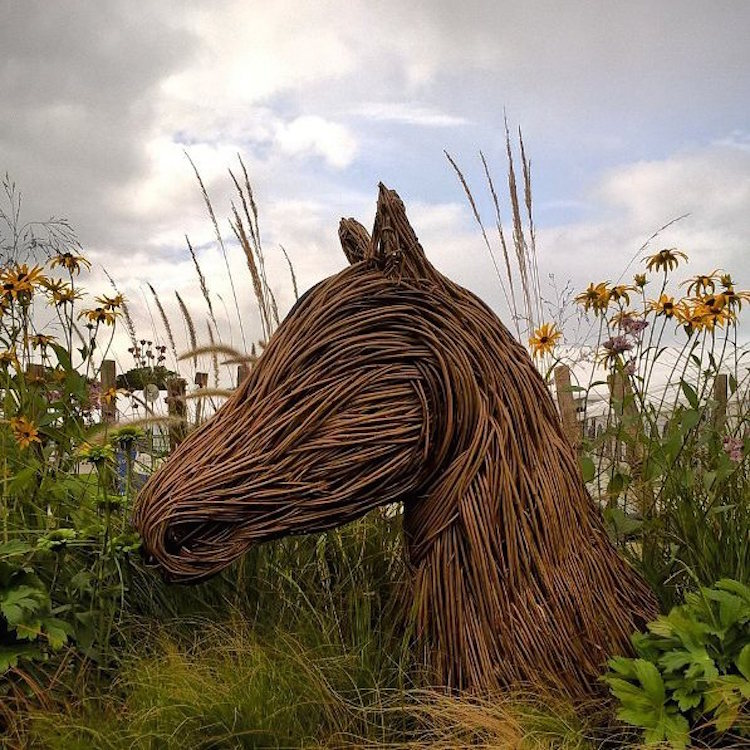 Outdoor Sculptures by Anna and the Willow