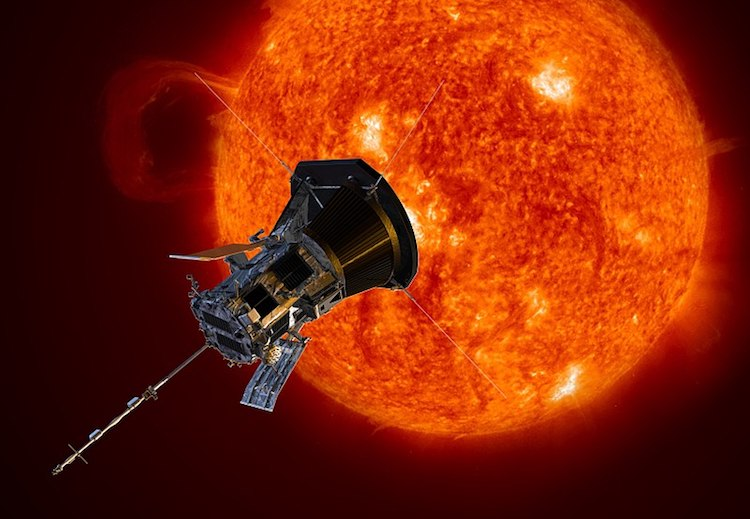 Artist Rendering of the Parker Solar Probe