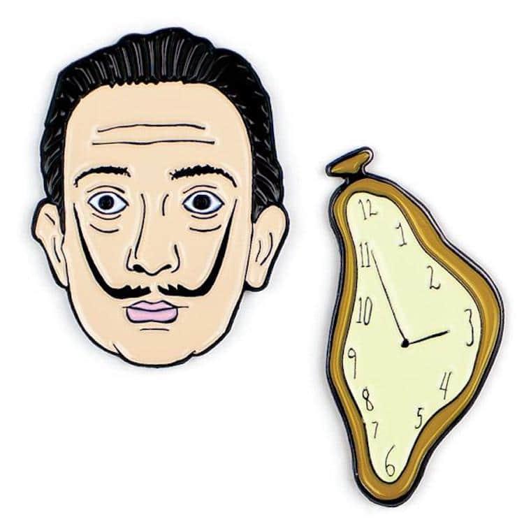 Pin de Dalí
