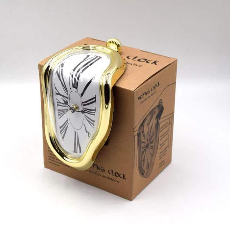 reloj derretido de verdad
