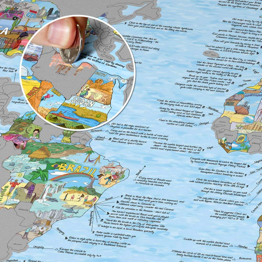 Scratch Off Travel Maps