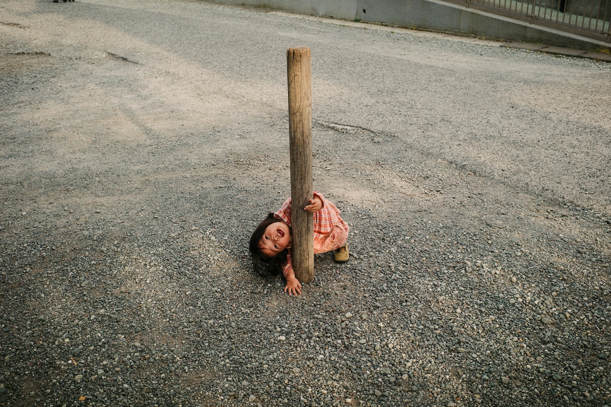 Fotos de la Vida Cotidiana con Niños por Shin Noguchi