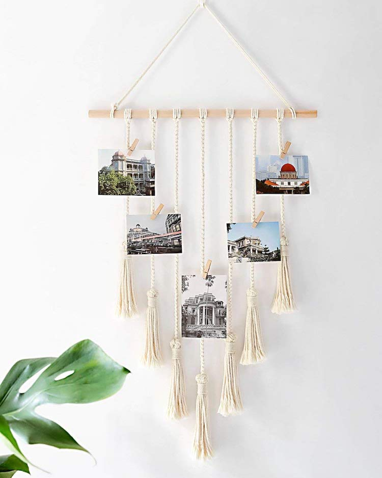Macrame Wall Hanging Book
