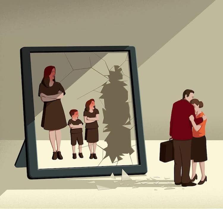 Editorial Illustrations by Stephan Schmitz