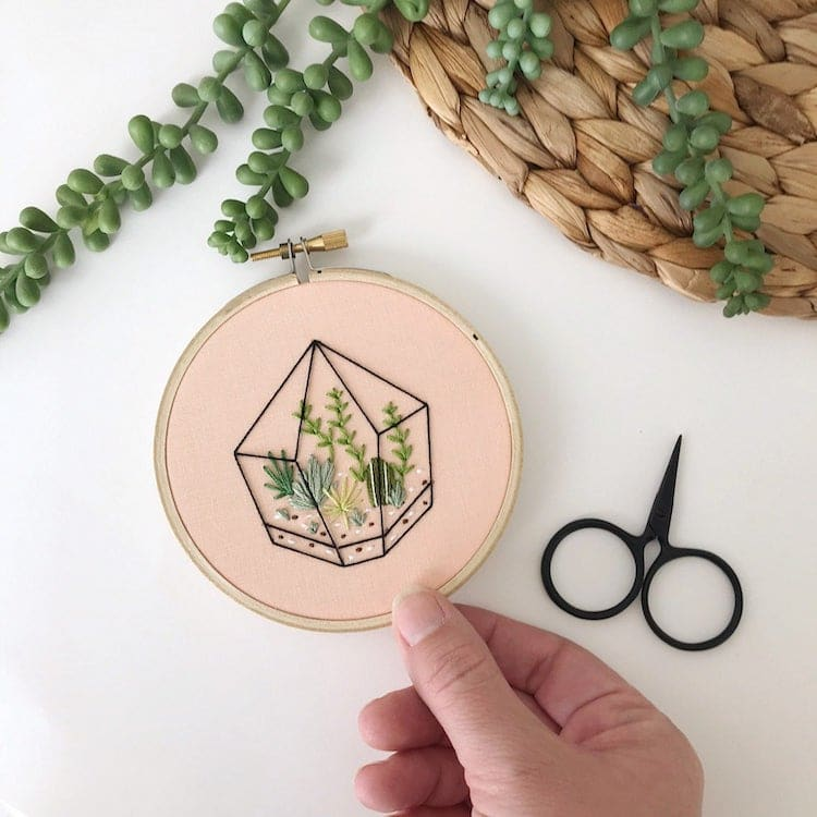 Hoop Art by Celeste Johnston