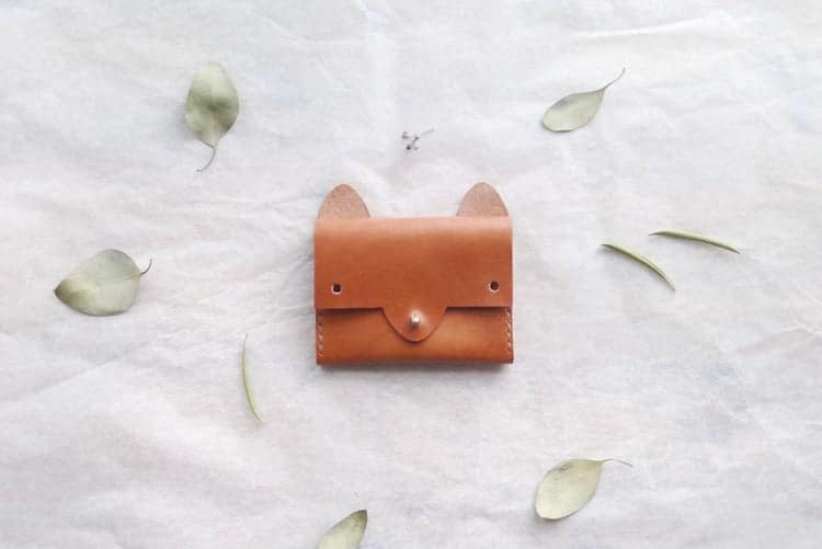 Leather Wallet That Looks Like a Fox